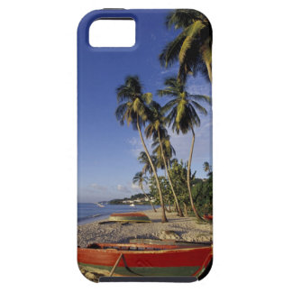 CARIBBEAN, Grenada, St. George, Boats on palm iPhone 5 Covers