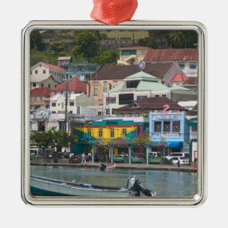 Caribbean, GRENADA, St. George's, St. George's Metal Ornament