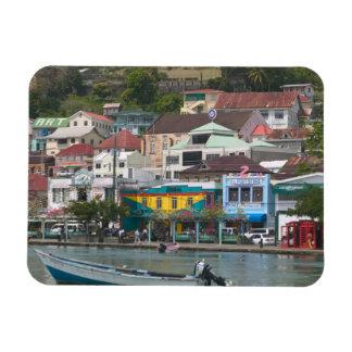 Caribbean, GRENADA, St. George's, St. George's Rectangular Photo Magnet