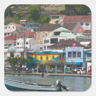 Caribbean, GRENADA, St. George's, St. George's Square Sticker