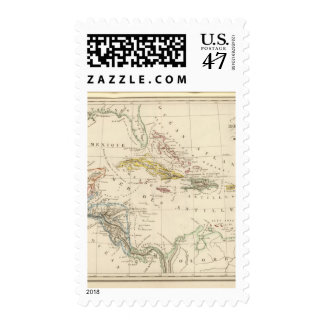 Caribbean, Gulf of Mexico and Guatemala Postage
