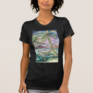 Caribbean Hammock - enhanced T-Shirt