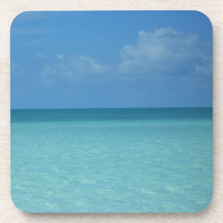 Caribbean Horizon Cork Coaster Set