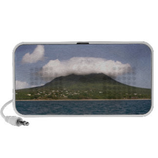 Caribbean Island and Cloud from the Sea Travel Speaker
