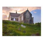 Caribbean Island Nevis St James Church Postcard