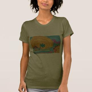 Caribbean Island Sun T Shirt