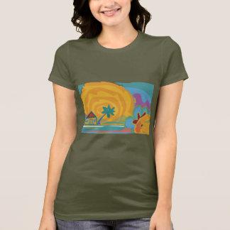 Caribbean Island Sun T-Shirt