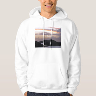 Caribbean Islands at Sunset Hoodie