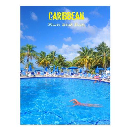 caribbean island postcard wallpaper - photo #13