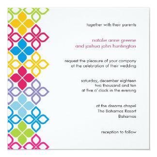 Caribbean Islands Wedding Invitation Card