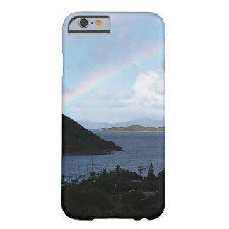 Caribbean Islands with Rainbow and Sunny Clouds Barely There iPhone 6 Case