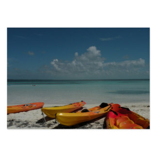 Caribbean Kayaks ATC Card Large Business Cards (Pack Of 100)