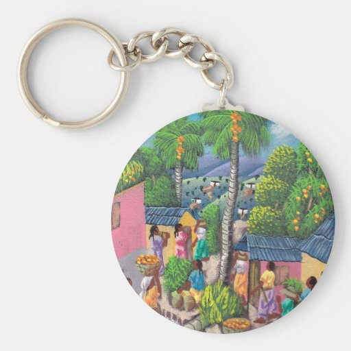 Caribbean! Keychain