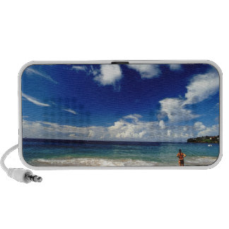 Caribbean, Lesser Antilles, West Indies, 2 Mini Speaker