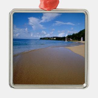Caribbean, Lesser Antilles, West Indies, 3 Metal Ornament