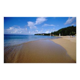 Caribbean, Lesser Antilles, West Indies, 3 Photo Print