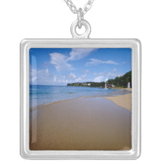 Caribbean, Lesser Antilles, West Indies, 3 Silver Plated Necklace