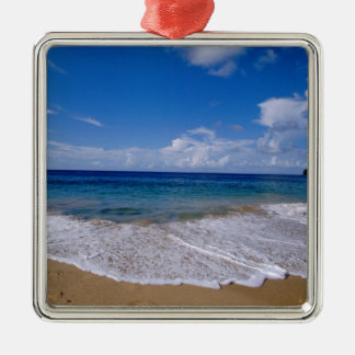 Caribbean, Lesser Antilles, West Indies, 4 Metal Ornament