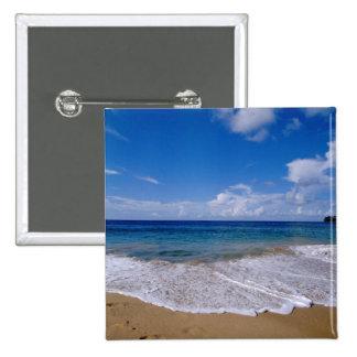 Caribbean, Lesser Antilles, West Indies, 4 Pinback Button