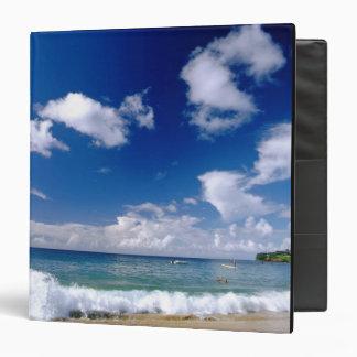 Caribbean, Lesser Antilles, West Indies, 5 Vinyl Binders