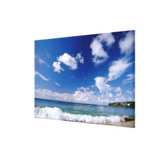 Caribbean, Lesser Antilles, West Indies, 5 Canvas Print