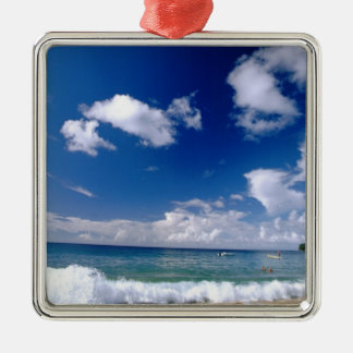 Caribbean, Lesser Antilles, West Indies, 5 Metal Ornament
