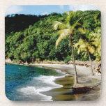 Caribbean, Lesser Antilles, West Indies, Saint Beverage Coaster