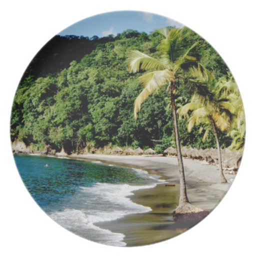 Caribbean, Lesser Antilles, West Indies, Saint Dinner Plate