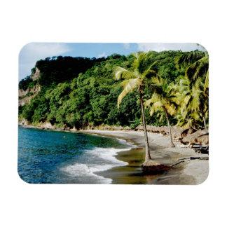 Caribbean, Lesser Antilles, West Indies, Saint Rectangular Photo Magnet