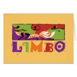 Caribbean Limbo Dance Greeting Cards