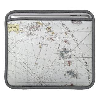 CARIBBEAN: MAP, 1775 iPad SLEEVE