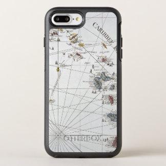 CARIBBEAN: MAP, 1775 OtterBox SYMMETRY iPhone 8 PLUS/7 PLUS CASE