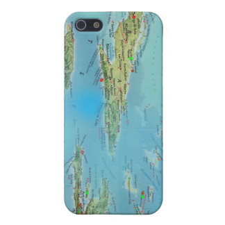 Caribbean Mapology Case For iPhone SE/5/5s
