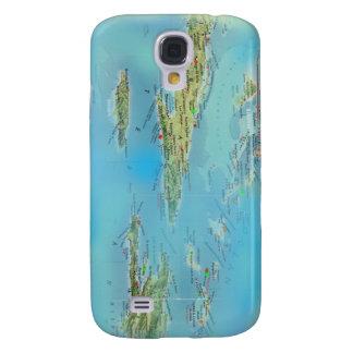 Caribbean Mapology Samsung S4 Case