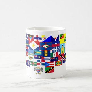 caribbean classic white coffee mug