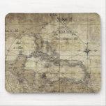 Caribbean - old map alfombrilla de raton