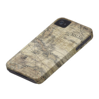 Caribbean - old map Case-Mate iPhone 4 case