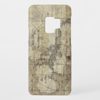 Caribbean - old map Case-Mate samsung galaxy s9 case