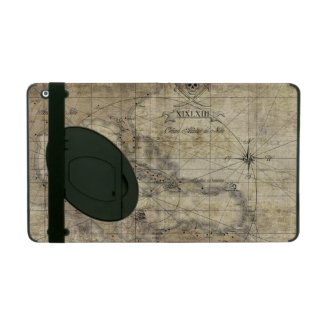 Caribbean - old map iPad cover