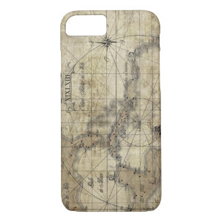 Caribbean - old map iPhone 7 Case