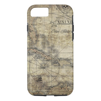 Caribbean - old map iPhone 8/7 case
