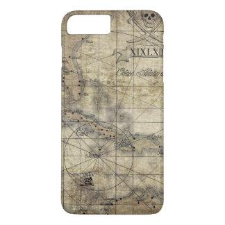 Caribbean - old map iPhone 8 plus/7 plus case