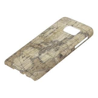 Caribbean - old map samsung galaxy s7 case