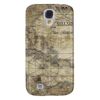 Caribbean - old map samsung s4 case