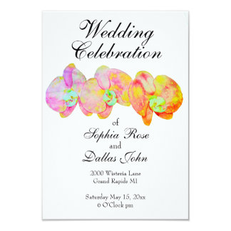 Caribbean Orchids Card