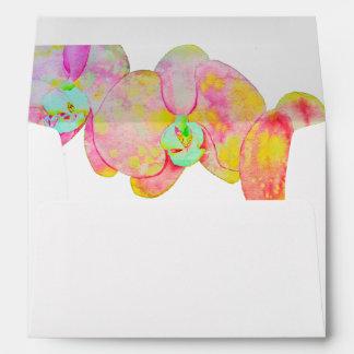Caribbean Orchids Envelope