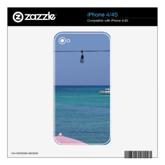 Caribbean Paradise Skins For iPhone 4