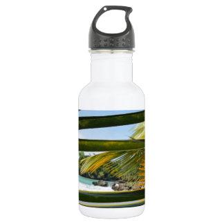 caribbean paradise water bottle