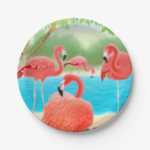 how to make a paper flamingo