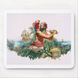 Caribbean Pirate Mouse Pad